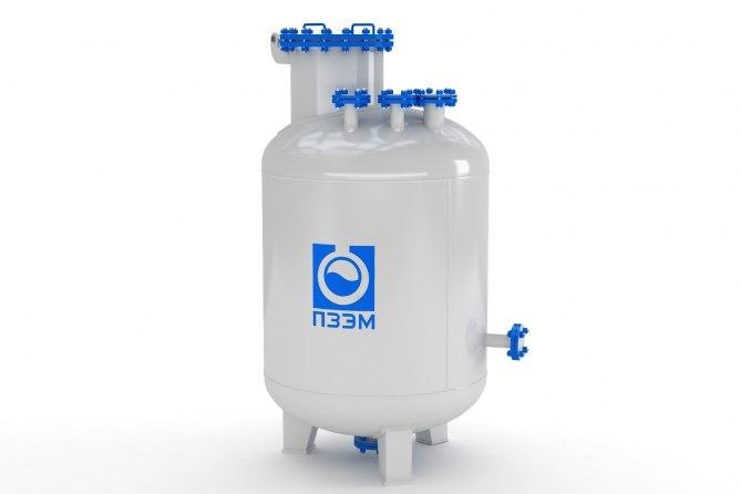 Аппараты емкостные для серной кислоты