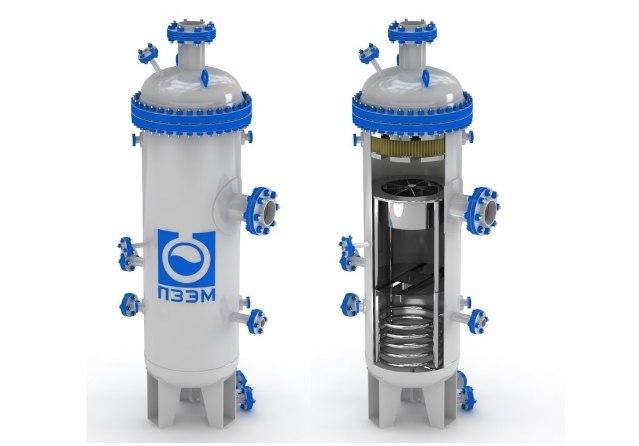 Сепараторы для природного газа, попутного нефтяного газа и газового конденсата