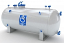 Резервуар для хранения жидкой двуокиси углерода (углекислоты)