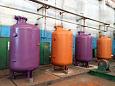 Аппараты емкостные для соляной кислоты