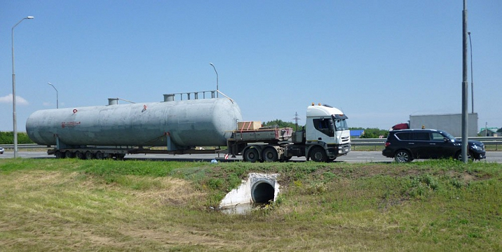 Отстойники для пластовой воды и нефти