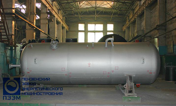 Аппараты емкостные для газообразных сред