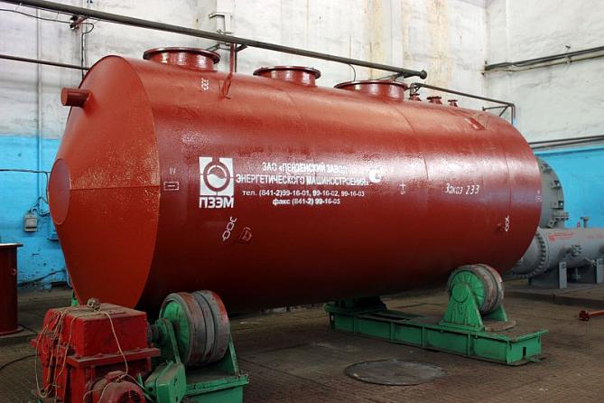 Емкости и резервуары для газотрубинного топлива