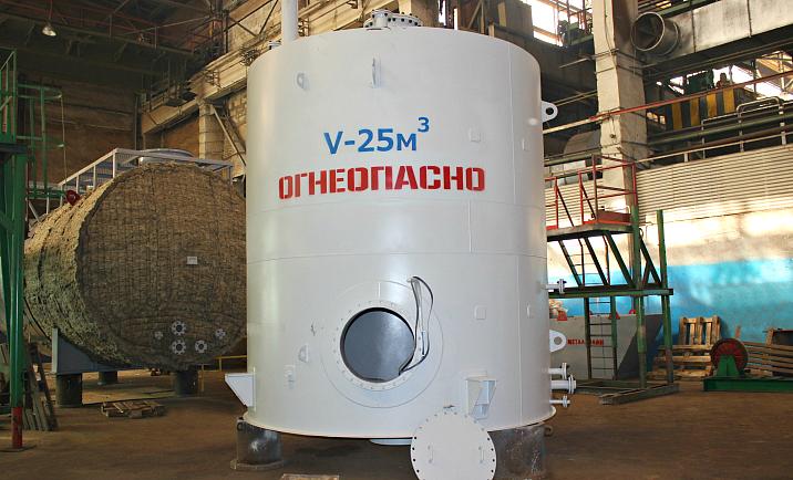 Резервуары вертикальные